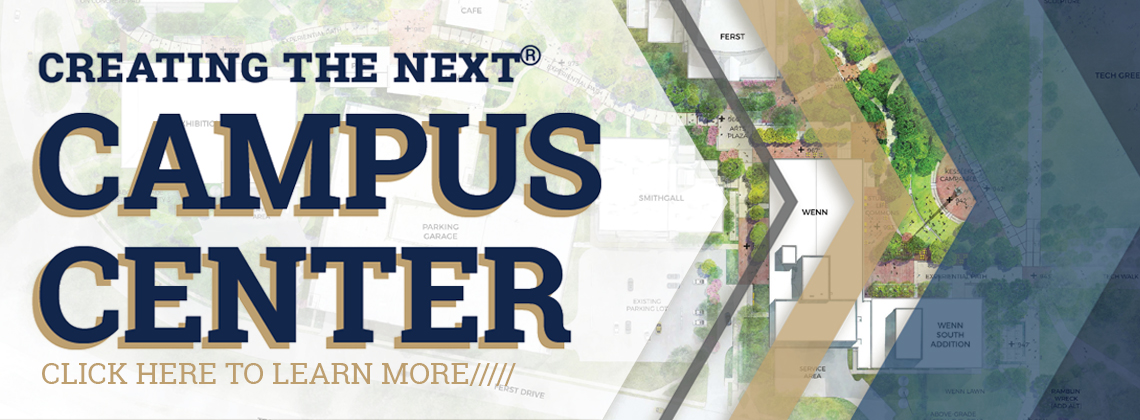Information is now available about the Campus Center Project. Click here to learn more!